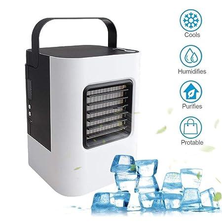 Amazon.com: Inverlee Mini ventilador de aire acondicionado ...