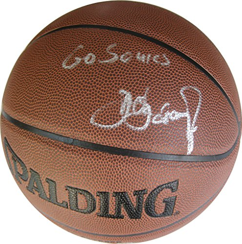 (Detlef Schrempf, Seattle SuperSonics, Sonics, Signed, Autographed, NBA Basketball, a Coa with the Proof Photo of Detlef Signing Will Be Included )