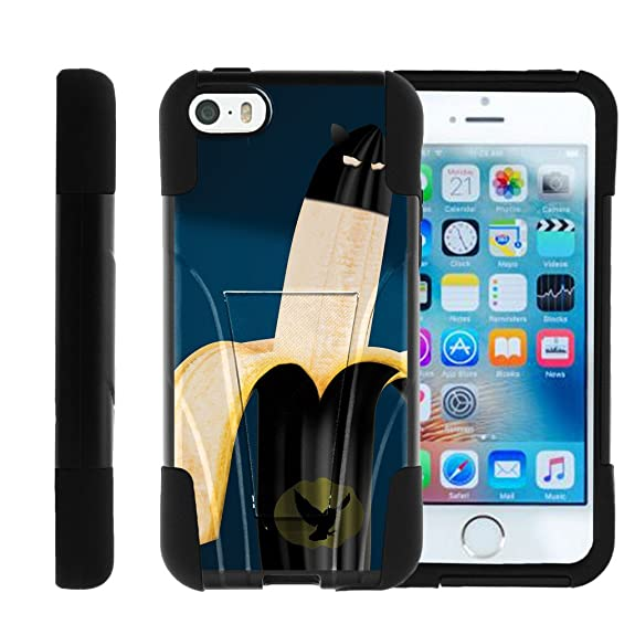 new arrivals 87566 ca11e Apple iPhone SE case, iPhone 5 Case , iPhone 5s Cover Hybrid Dual Layer  Case with Kickstand STRIKE IMPACT Heroes and Superhero | Miniturtle - Bat  ...