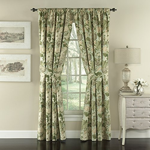 - WAVERLY Curtain Drapes for Living Room - Garden Glory 84