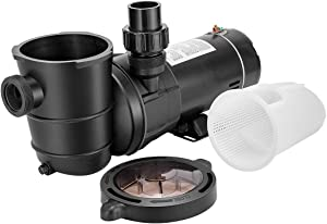 VIVOHOME 1.0 HP 5220 GPH Powerful Above Ground Swimming Pool Pump with Strainer Basket ETL Certified