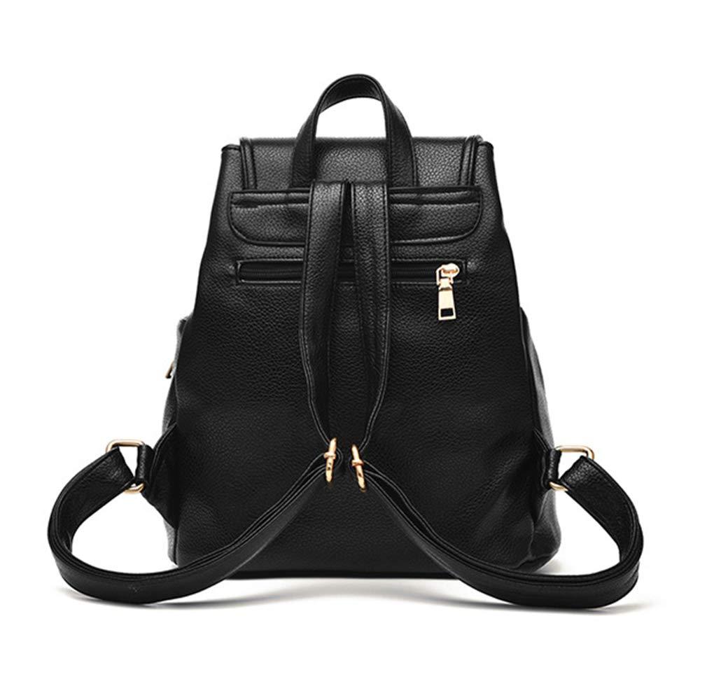 Aiseyi kvinnor ryggsäck handväska PU-läder mode designer ryggsäck tvätt resa vardaglig ryggsäck Vinröd