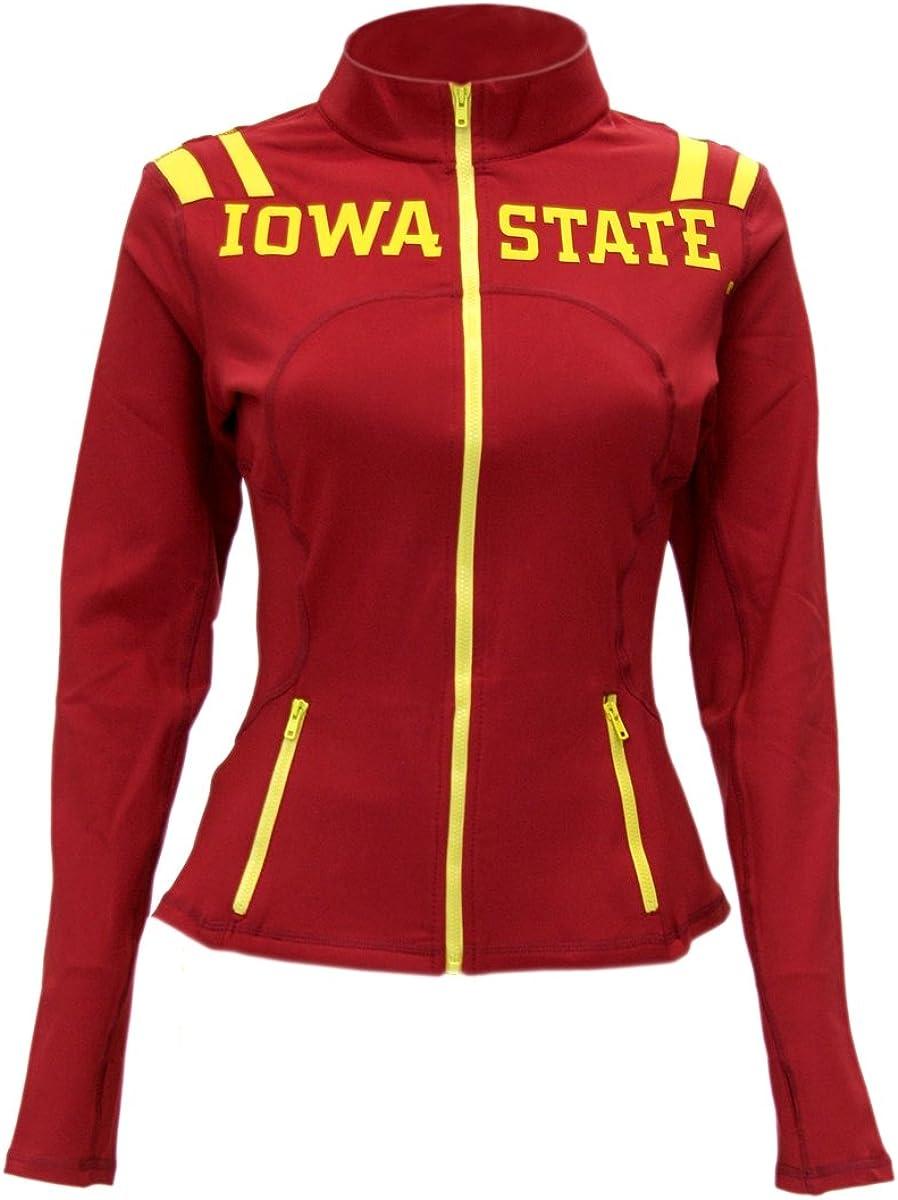 Twin Vision Activewear Colorado State Rams NCAA Womens Yoga Track Jacket
