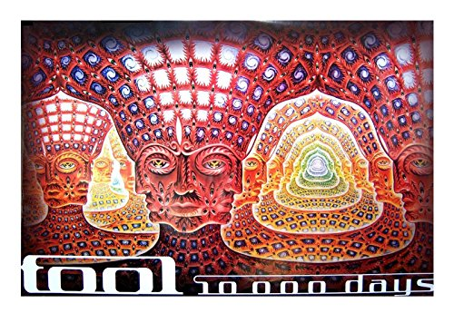 Poster Day - Tool Net of Being 10000 Days Alex Grey Jumbo Poster 40