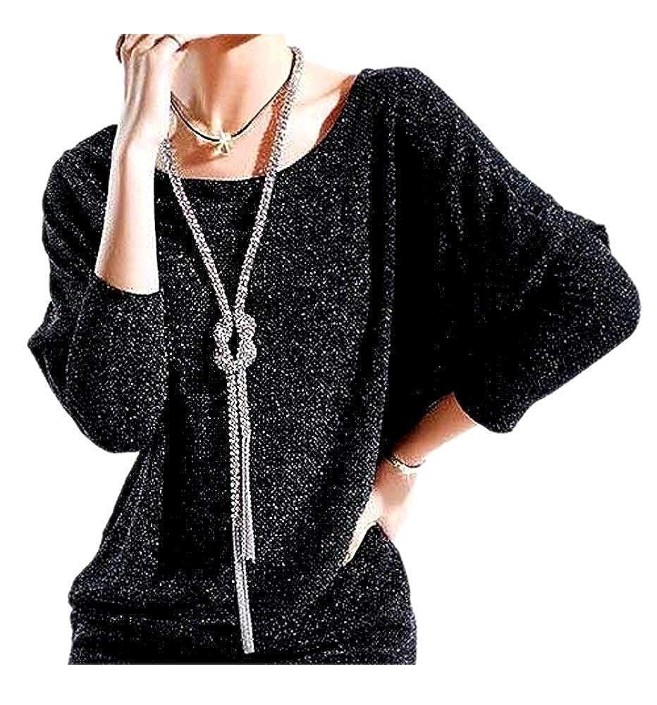 ARJOSA Women's Fashion Sweater Dress Y Knot Necklace Long Chain Tassel Pendant