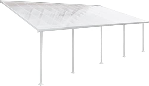 Palram HG9226 Feria Patio Cover, 13 x 26 , White