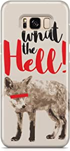 Samsung S8 Plus Case FOX WHAT THE HELL Samsung Samsung S8 Plus Cover Wrap Around