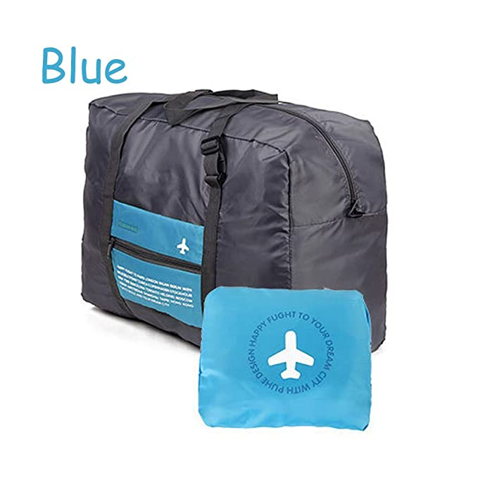 42a02a4c753c Amazon.com | Foldable Travel Bag Portable Luggage Bag Waterproof ...