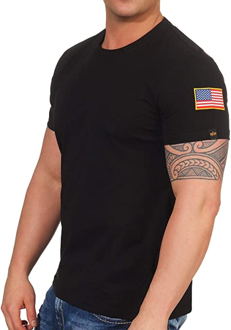 Alpha Industries Hombres Ropa Superior/Camiseta NASA: Amazon.es ...