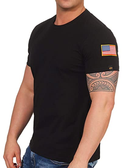 huge selection of 0be51 d599b Alpha Industries Men Overwear/T-Shirt NASA