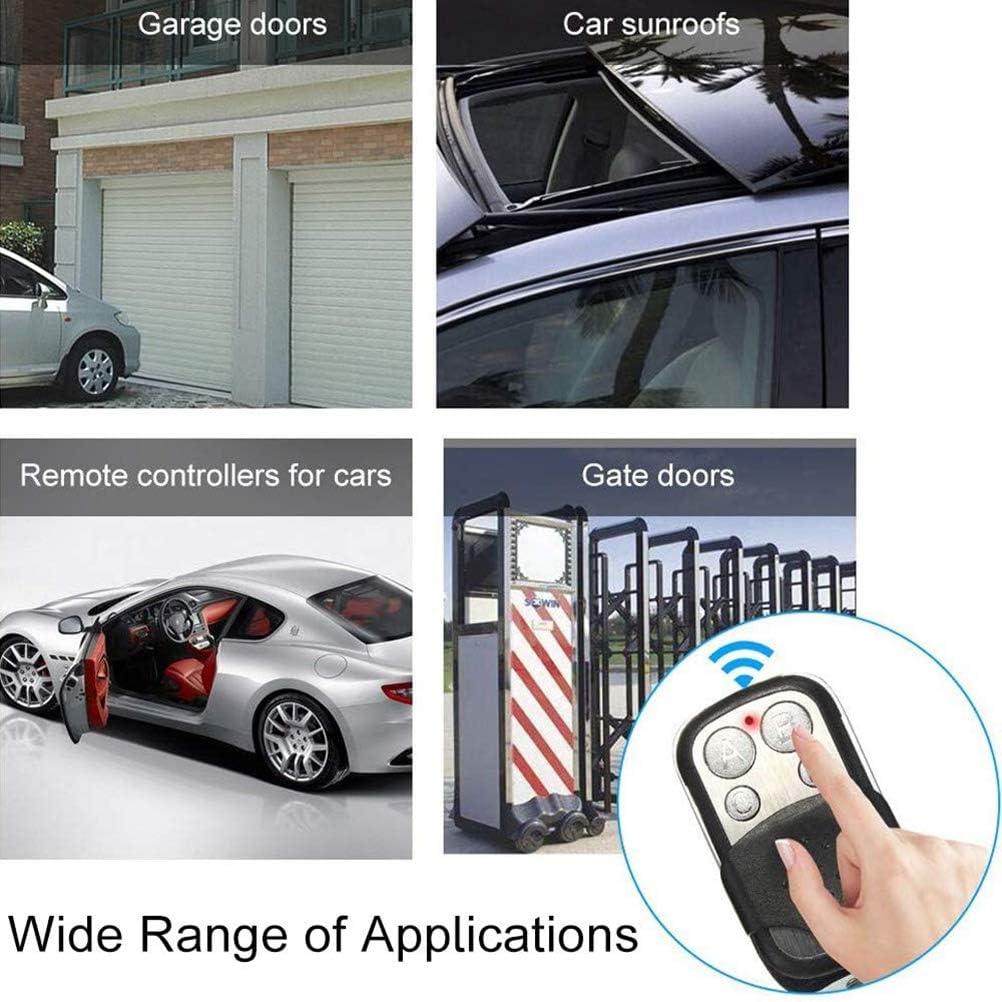 Yousir T/él/écommandes universelles pour Porte Automatique Fr/équence 433.92 Ouvre-Porte de Garage