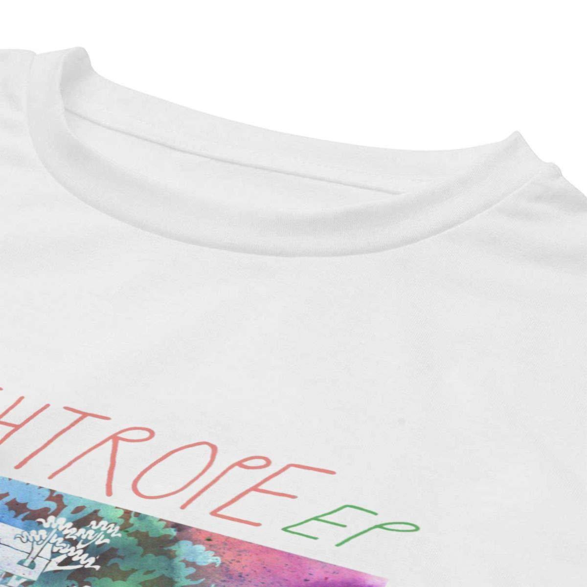 Yaruiguan Womens 100/% Cotton Shirt Tops Walk The Moon Design Crewneck Shirt Tops
