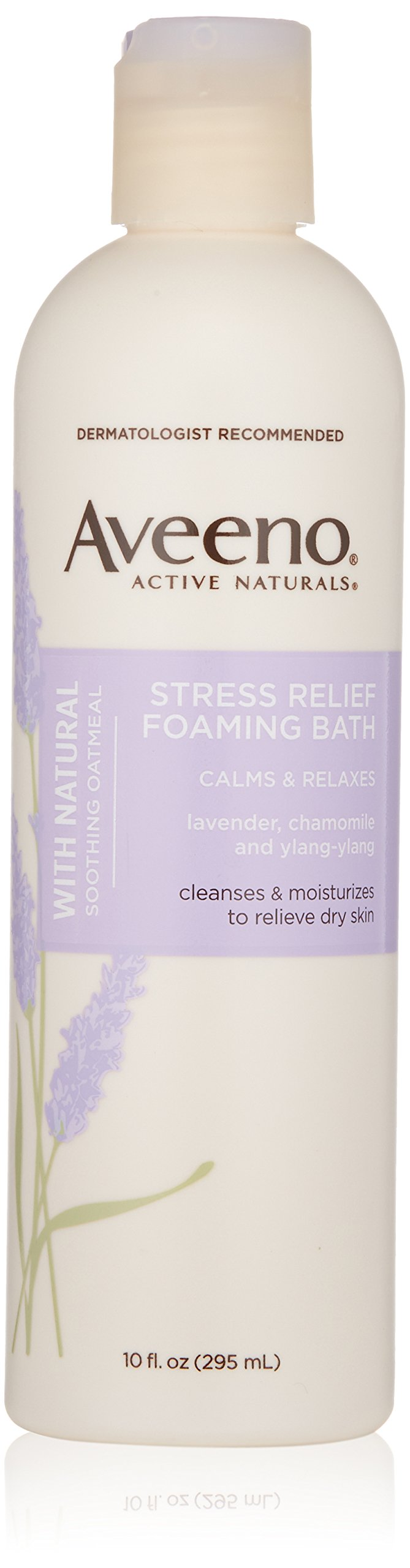 Aveeno Stress Relief Foaming Bath, 10 Fl. Oz