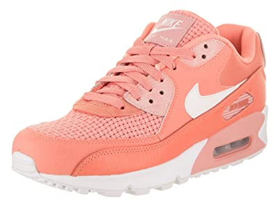 5b0d5bca013a9 Image Unavailable. Image not available for. Colour: Nike Air Max 90 Se Womens  Trainers Coral - 6 UK