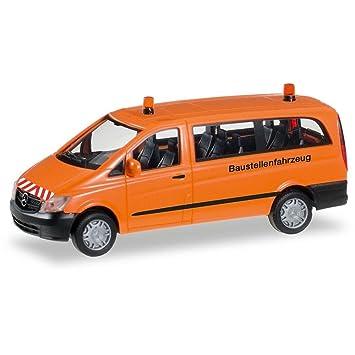 Herpa 092555 Mercedes Benz Vito Bus Mini Construction Vehicle
