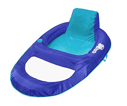 Amazon.com: Flotador hinchable XL azul de malla para piscina ...