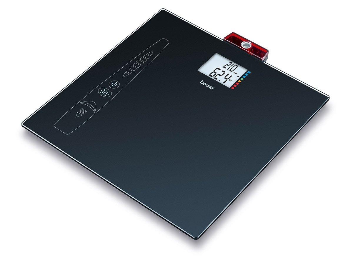 Beurer GS-49 BMI - Báscula cristal con medición peso y altura, cálculo BMI, 150 Kg/100 gr, color negro (Reacondicionado Certificado): Amazon.es: Salud y ...