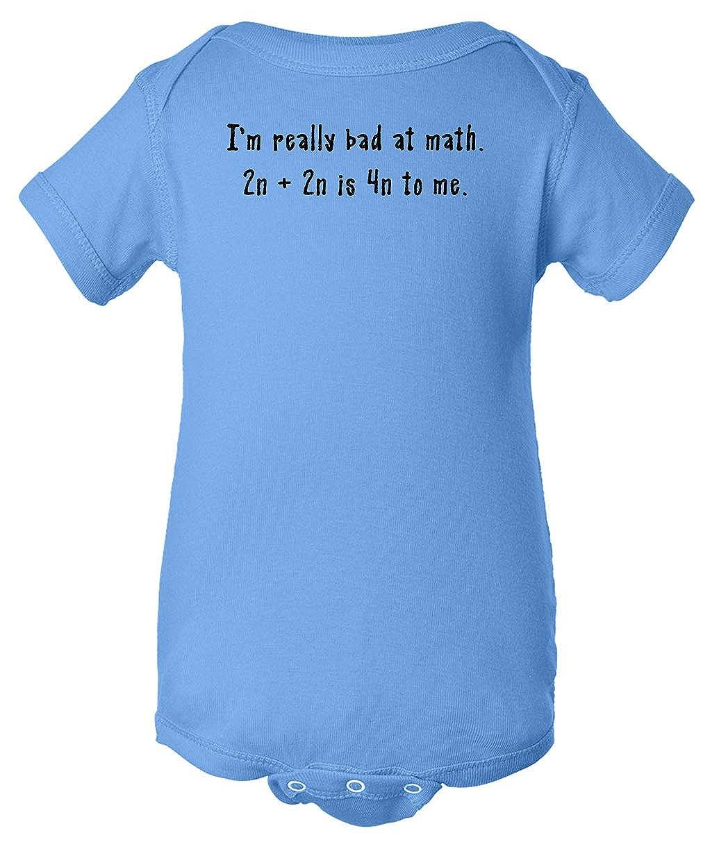Tenacitee Babys Foreign Math Shirt