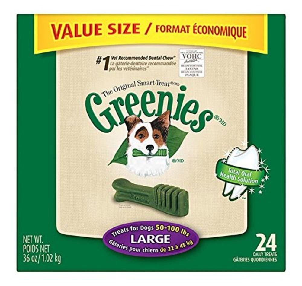GREENIES Dental Chews Value Tub 36 Oz Large Dog