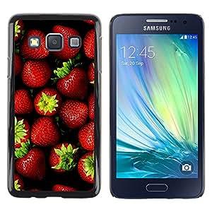 Exotic-Star ( Strawberry ) Fundas Cover Cubre Hard Case Cover para Samsung Galaxy A3 / SM-A300