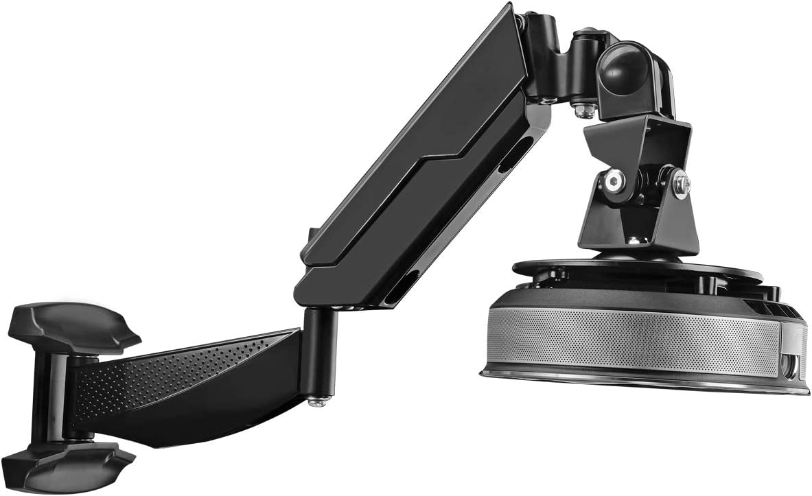 Soporte de Pared telesc/ópico para proyectores en Miniatura Exliy Soporte Ajustable para Colgar en la Pared para proyector Cilindro de Montaje en Techo para proyector multidireccional 100-200cm