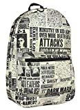 Harry Potter Backpack The Daily Prophet Newspaper Undesirable No.1 Full Size Bag