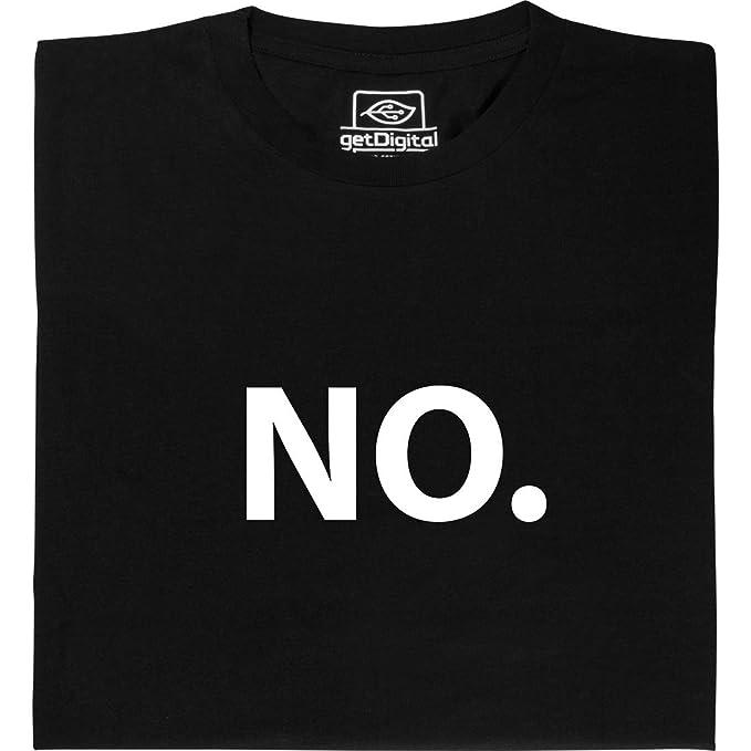 getDigital Camiseta No - camisa hecha de algodón orgánico 100%, talla XXL