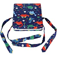 Baby Booster Seat with Straps - Toddler Kid Infant Demountable Adjustable Washable Dining Chair Pads Chair Increasing…