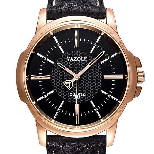 ZZRH Relojes de Lujo para Hombres Famosos Relojes para Hombres de Negocios Reloj de Cuarzo para Hombres: Amazon.es: Relojes