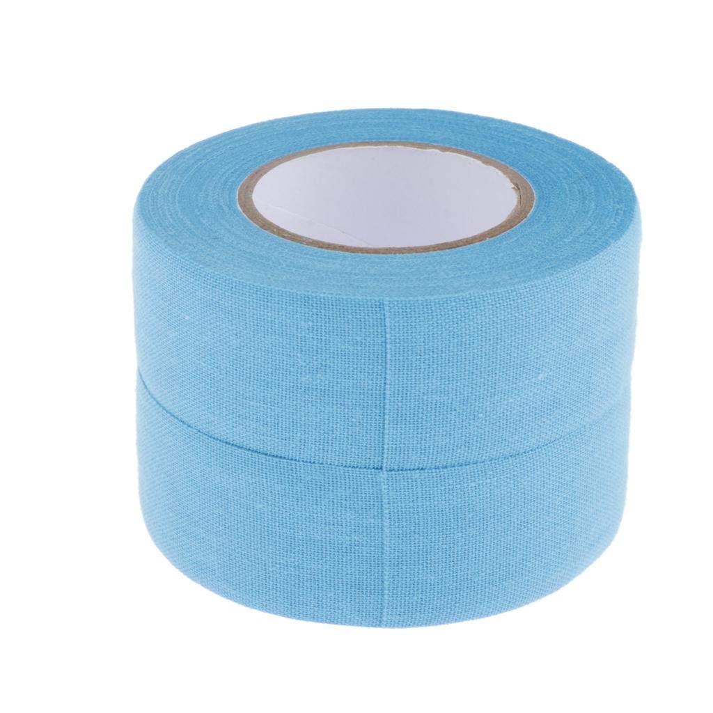 W x L 1 x 11 Yards 6 Colors Injoyo 2 Rolls of Cotton Cloth Hockey Tape -