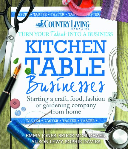 Kitchen Table Businesses (FREE TASTER): Starting a craft, food, fashion or gardening company from home by [Jones, Emma]
