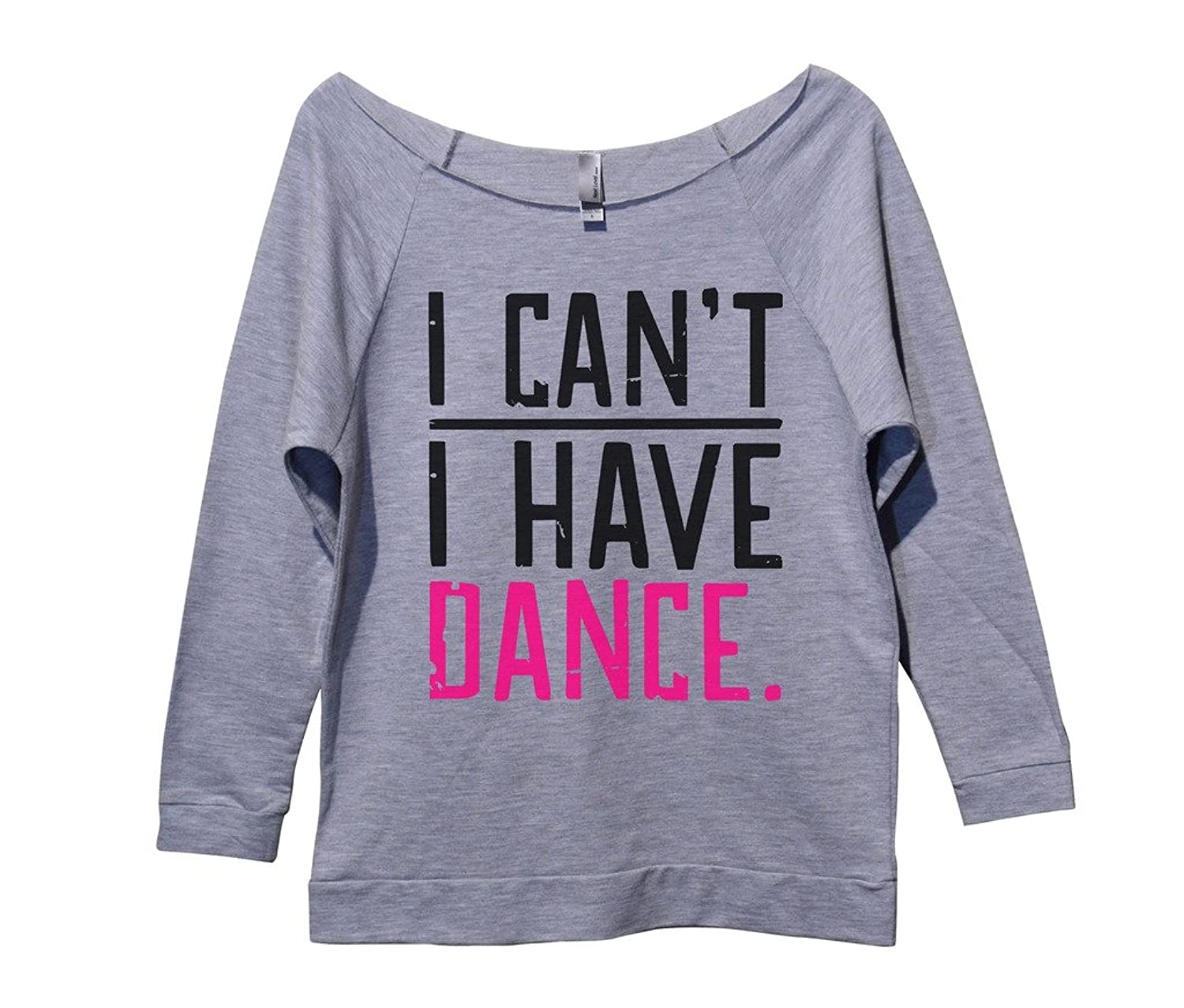 Cute Shirt Vintage Long Sleece Cheerleading 鈥淚 Cant I Have Dance鈥