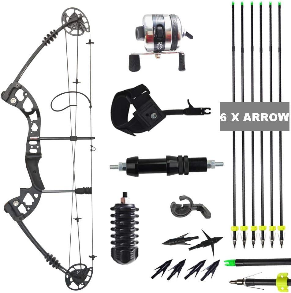 Amazon.com : AMEYXGS Archery Compound Bow Fishing Set Bowfishing