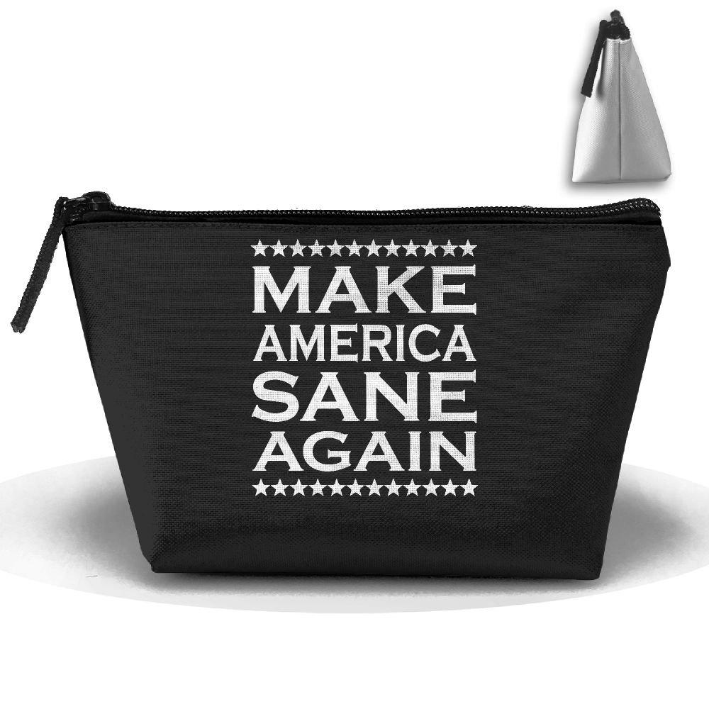 Make America Sane Again Fashion Travel Bag Trapezoid