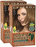 Clairol Natural Instincts, 011G, Amber Shimmer, Lightest Golden Brown, 2 pk