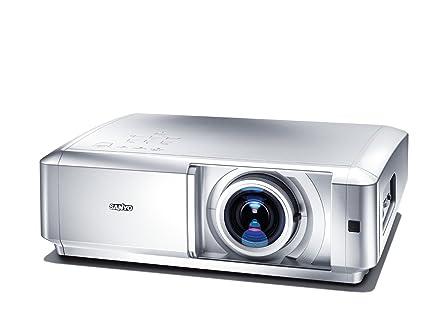 Nieuw Sanyo PLV Z5 HDTV Projektor (1100 ANSI Lumen) HDMI Silber: Amazon QZ-19