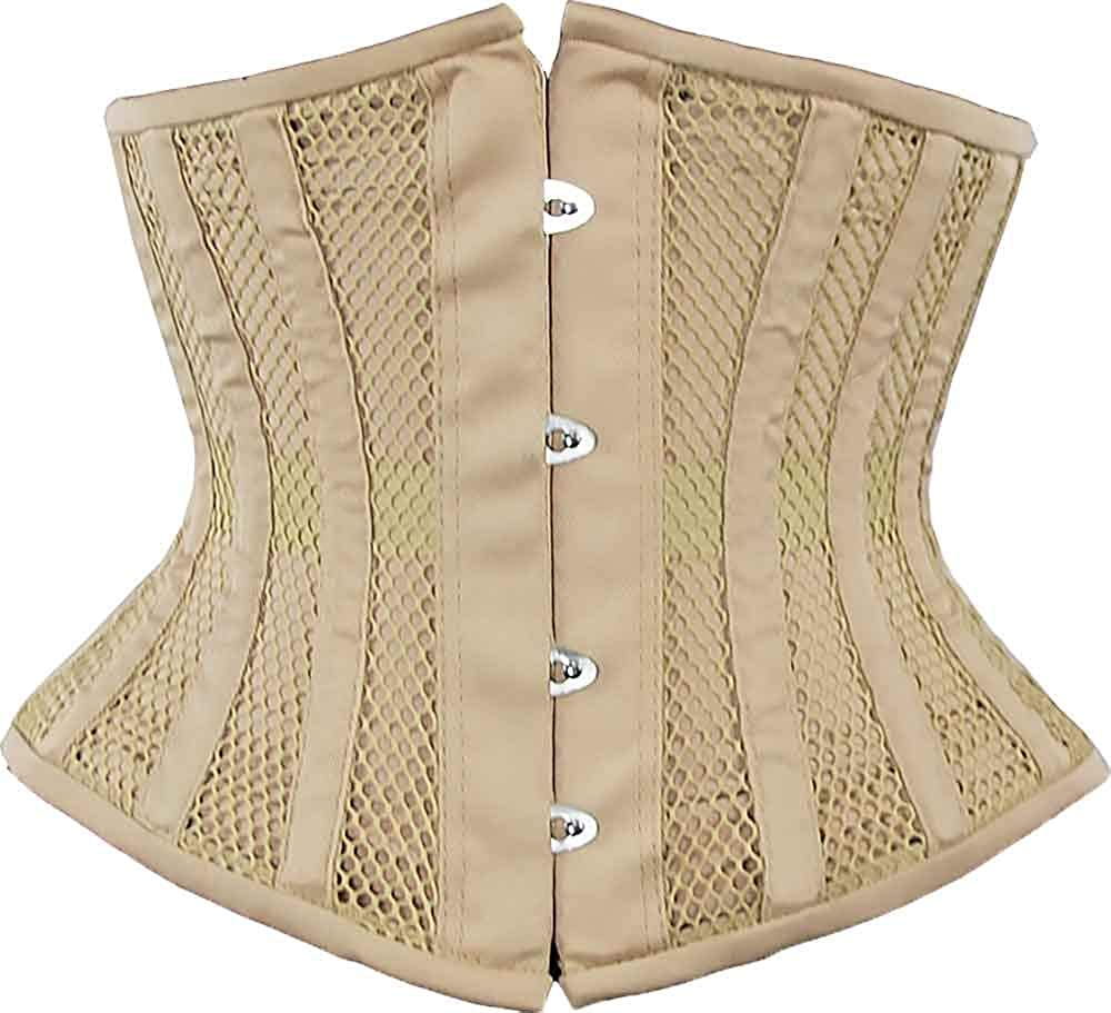 Orchard Corset CS-411 Womens Mesh Underbust Original Steel Boned Waist Training Corset