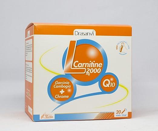 Drasanvi L-Carnitina Complemento Alimenticio - 20 Unidades: Amazon.es: Salud y cuidado personal
