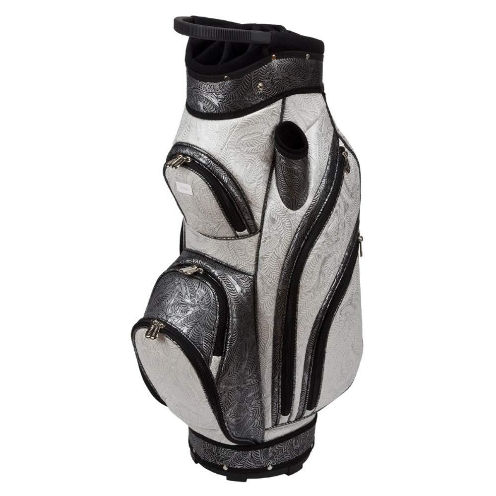Cutler Bags レディース ゴルフカートバッグ セントラルパーク ホワイト/ブラック B07PQJVGV6
