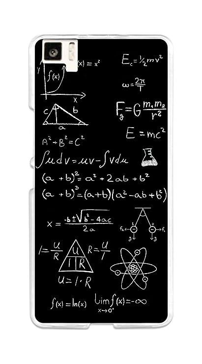 Tumundosmartphone Funda Gel TPU para BQ AQUARIS M5 diseño Formulas Dibujos