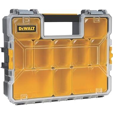 DeWalt DWST14825 10-Compartment Deep Pro Part/Tool Organizer with Metal Latch