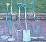 Set of 5 Gardening Tools, Shovel, For...