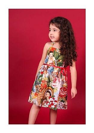 4bcea2bf20b Amazon.com  Girl Senorita Halter Dress  Clothing