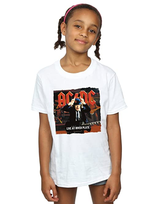 AC/DC niñas Live At River Plate Columbia Records Camiseta: Amazon.es: Ropa y accesorios
