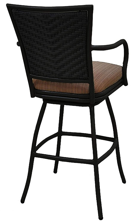 Amazon.com: Erin - Taburete de barra para exteriores (altura ...