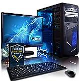 """Vibox Centre Paquet 10 Unité centrale Gaming Ecran Non tactile 21,5""""(54,61 cm) Néon Bleu (AMD Athlon 64 fx, 8 Go de RAM, 1 To, AMD Radeon HD 8370D )"""