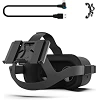 AMVR Powerbank Fixing Bracket Compatibly Placing Multiple Sizes Mobile Power for Oculus Quest or HTC Vive Deluxe Audio…