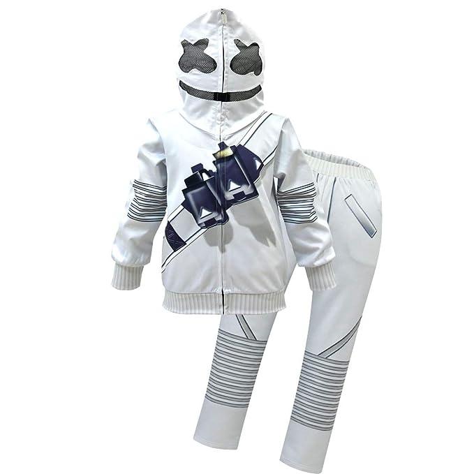 Amazon.com: DJ Set Boys Hoodie Pullover with Zip Up Jackets ...