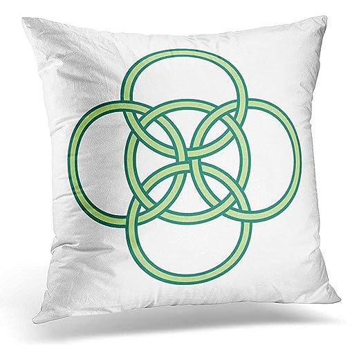 Klotr Funda de Almohada,Funda de Cojín Throw Pillow Cover ...