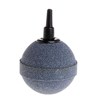 CADANIA Bomba de Aire de oxígeno Bubble Stone Acuario Plástico Peces de 5 mm Aumento de Accesorios: Amazon.es: Hogar